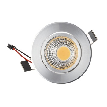 10 adet LED Downlight 3 W 6 W COB Led Tavan salon downlight Lamba AC85-265V Sıcak/Soğuk Beyaz Led gömme downlight