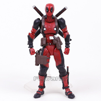 MARVEL Deadpool figma EX-42 DX ver. PVC Action Figure Koleksiyon Model Oyuncak 16 cm