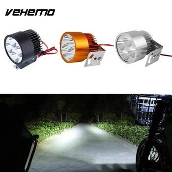 Motosiklet Motosiklet E-bike 20 W 12 V Universial Far Spotlight 4LED