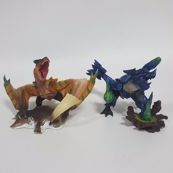 Monster Hunter Action Figure Tigrex Brachydios Ejderha Anime Oyunu Dinozor Koleksiyon Model Oyuncaklar 150 MM Monster Hunter 4