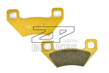 Brake Pads Organic For ARCTIC CAT 700 TRV XT 2013-650 HI TRV 4X4 Auto Plus LE Multirider 2007 Front & Rear OEM New ZPMOTO