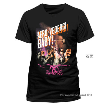 Aerosmith Tur Steven Tyler Joe Perry 2 Kaya offiziell Manner T-Shirt Damen